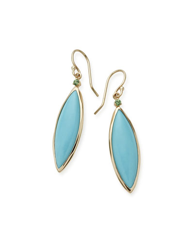Prisma Linear Turquoise Earrings