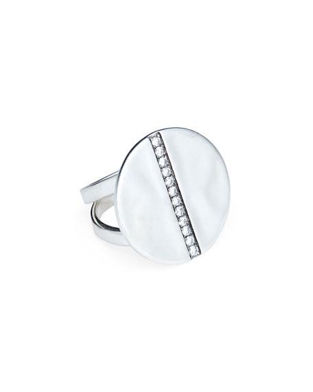 Senso™ Grand Disc Diamond Ring