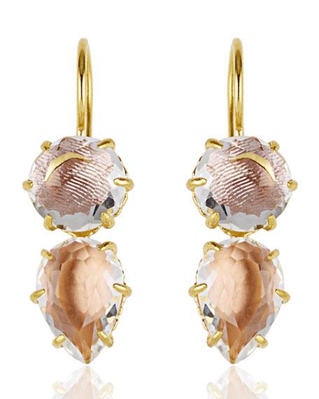 Larkspur & Hawk Caterina One-Drop Earrings, Bellini