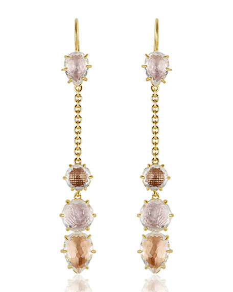 Larkspur & Hawk Caterina Chain Drop Earrings in