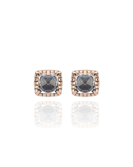 Larkspur & Hawk Bella Stud Earrings in Gray