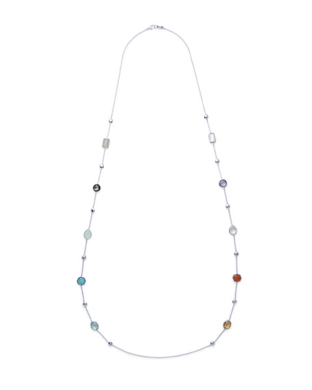 Ippolita 925 Rock Candy® Medium-Station Necklace in Eclipse,