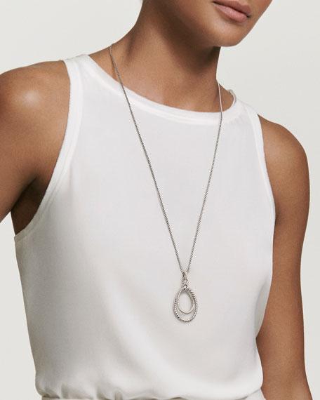 Continuance Diamond Loop Pendant Necklace