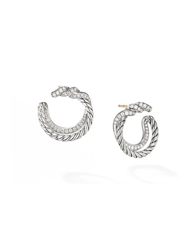 Continuance Diamond Hoop Earrings