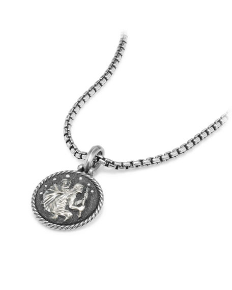 St. Christopher Diamond Amulet