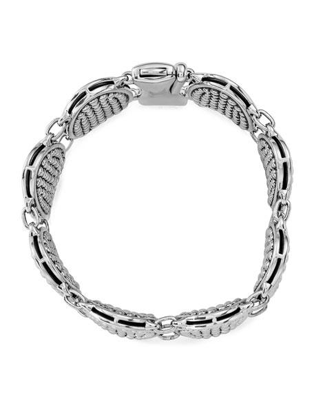 Signature Caviar Ellipse Link Bracelet