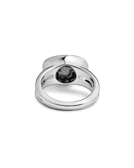 Signature Caviar Horizontal Eclipse Ring