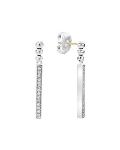 Caviar™ Spark Diamond Small Linear Drop Earrings