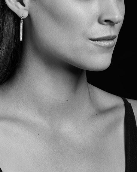 Caviar Spark Diamond Small Linear Drop Earrings