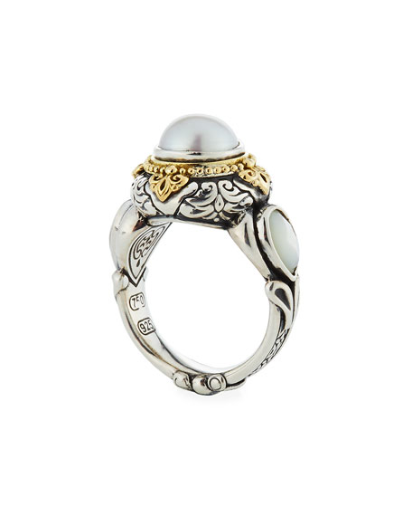 Hestia Mother-of-Pearl Ring