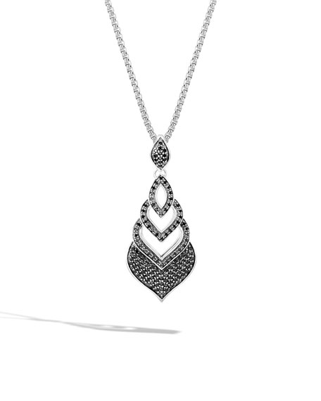 John Hardy Legends Naga Spinel Pendant Necklace