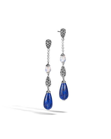 John Hardy Classic Chain Multi-Drop Earrings