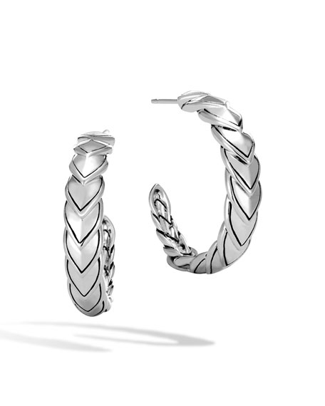 Naga Small Hoop Earrings