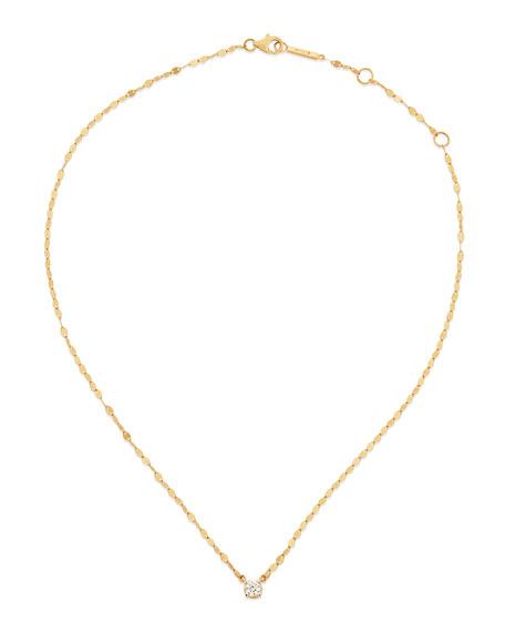 Lana 14k Solo Blake Diamond Pendant Necklace