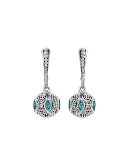 Caviar™ Talisman Marquise Ball Drop Earrings