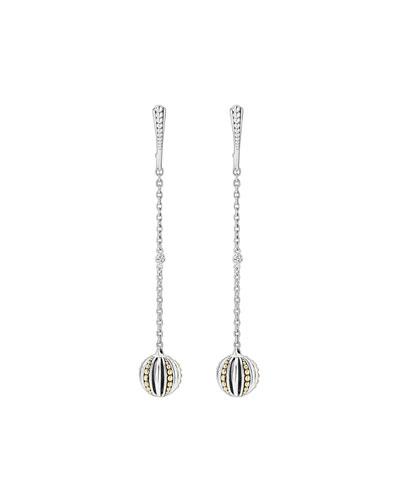 Caviar™ Talisman Two-Tone Drop Earrings