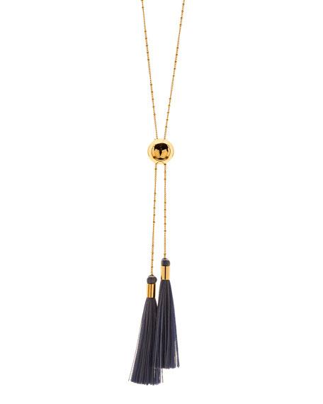 Carmen Tassel Lariat Necklace