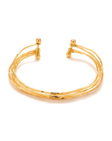 Taner Five-Row Cuff Bracelet