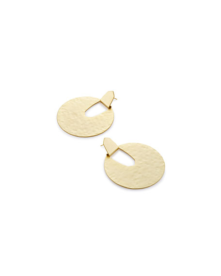 Diane Hammered Statement Earrings