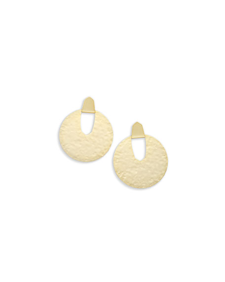 Kendra Scott Diane Hammered Statement Earrings