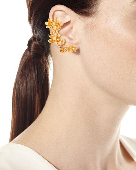 Bouquet Cuff Clip-On Earrings