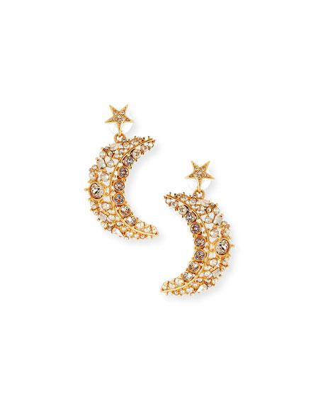 Oscar de la Renta Celestial Swarovski Crystal Drop