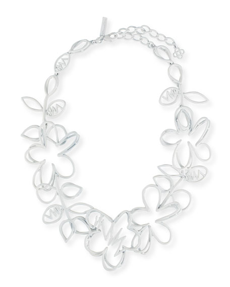 Botanical Scribble Necklace