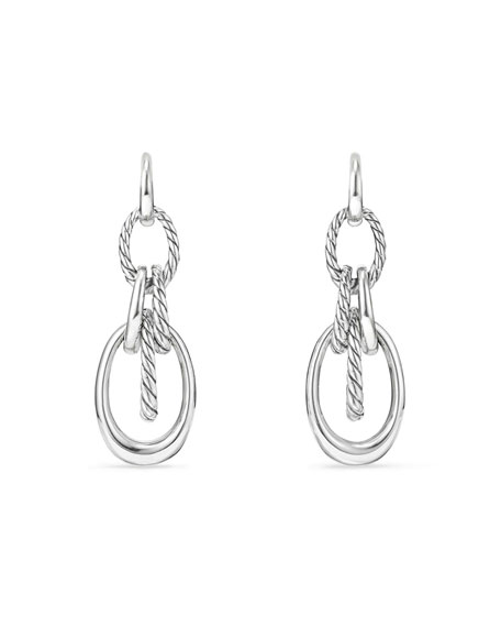 David Yurman Pure Form Convertible Link Drop Earrings