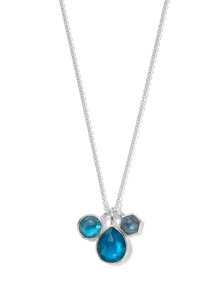Ippolita 925 Wonderland Three-Stone Necklace in Primrose