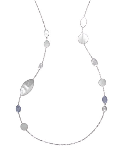 Wonderland Doublet Station Necklace in Primrose