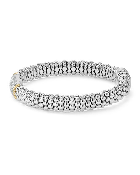 Diamond Lux Caviar™ Single Station Bracelet, 1.1tcw