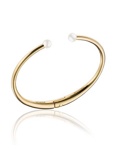 Mini Andrea Pearly Cuff Bracelet
