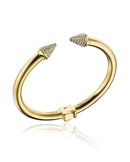 Mini Titan Hinged Crystal Bracelet