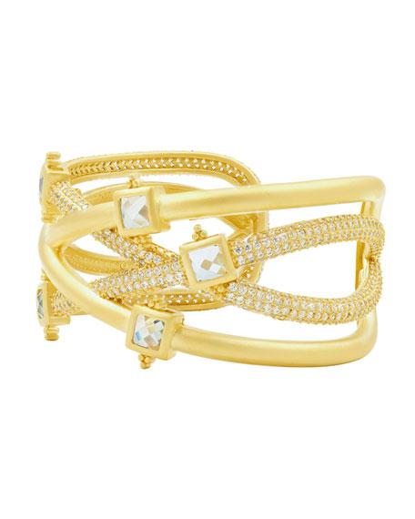 Ocean Azure Cuff Bracelet