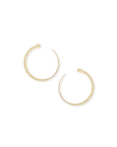 Vita Fede Moon Pearl Earrings