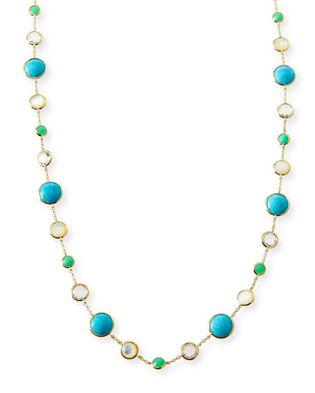 Ippolita 18k Gold Rock Candy Lollitini Necklace in