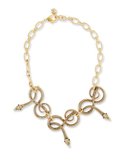 Moorea Snake Necklace