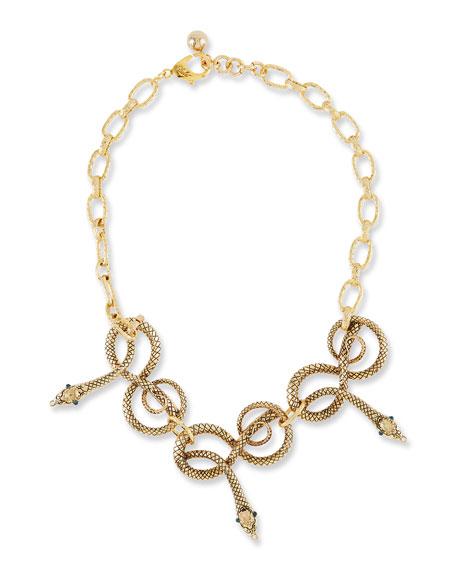Lulu Frost Moorea Snake Necklace