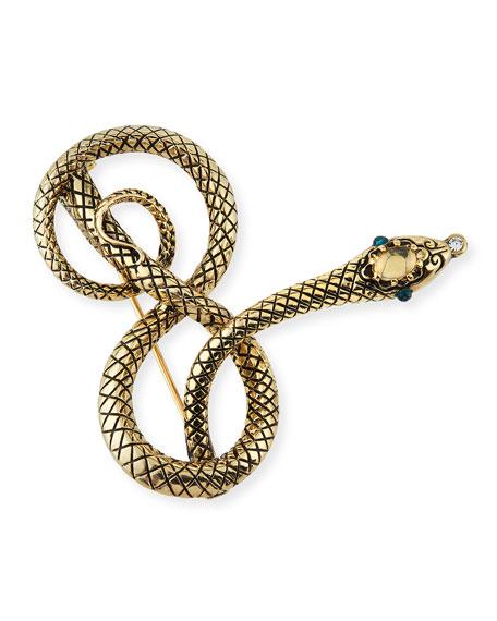 Lulu Frost Moorea Snake Pin