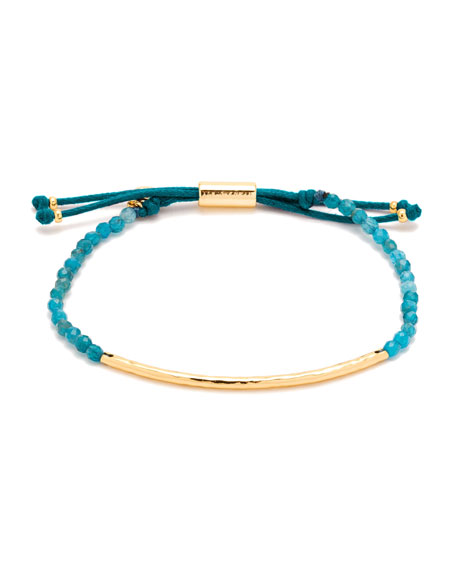 gorjana Power Gemstone Apatite Beaded Bracelet