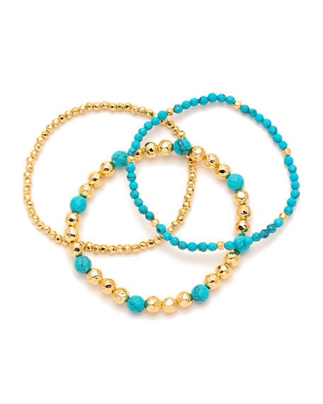 Gypset Beaded Bracelets, Set of 3