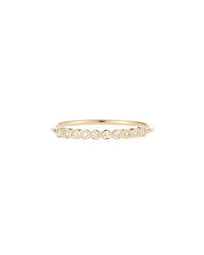 14k Tiny Diamond Ring
