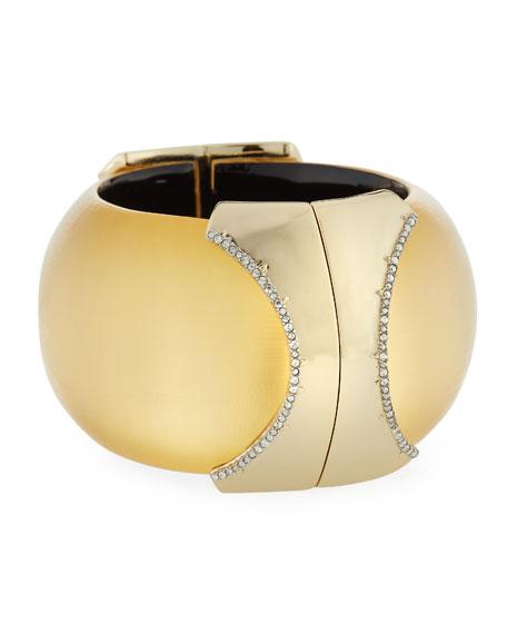 Large Dome Hinge Bracelet