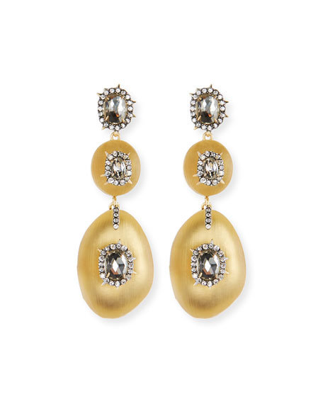 Alexis Bittar Triple Lucite?? Drop Earrings