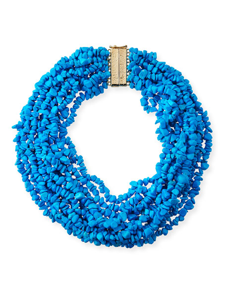 Fato Multi-Strand Beaded Necklace