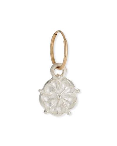 Single Tudor Rose Dangle Earring