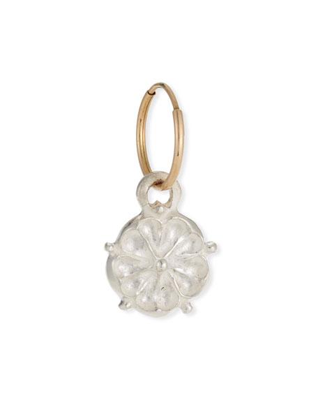 Lee Brevard Single Tudor Rose Dangle Earring