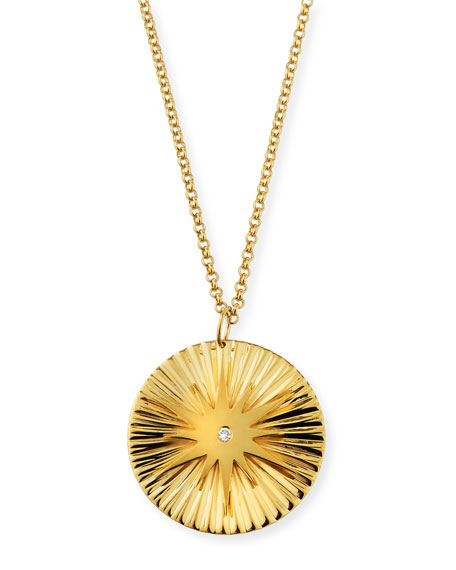 Jennifer Zeuner Iris Arlene Starburst Pendant Necklace