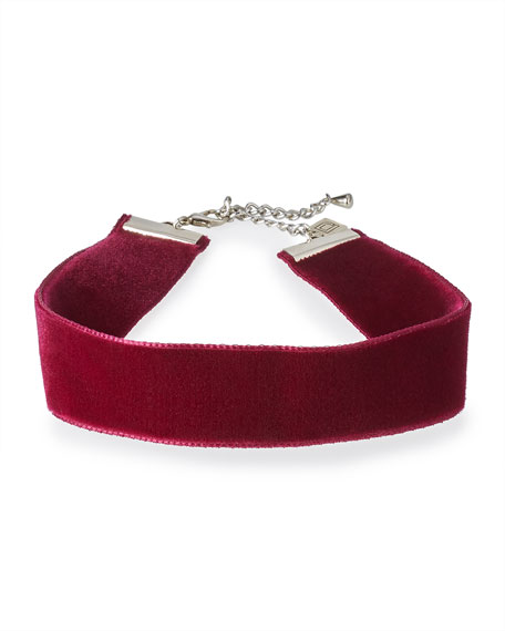 Aria Velvet Choker Necklace
