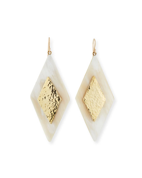 Rikebu Light Horn Drop Earrings